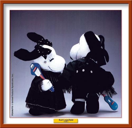 Karl Lagerfeld per Snoopy