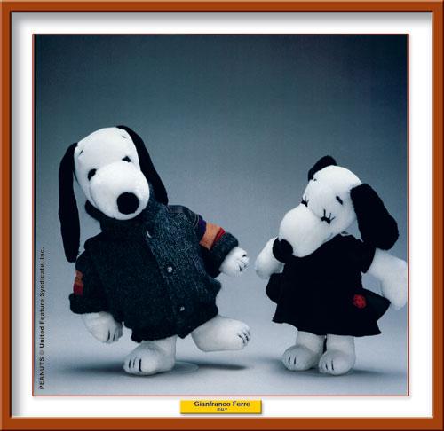 Gianfranco Ferrè per Snoopy