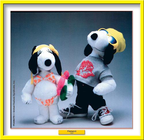 Fiorucci per Snoopy