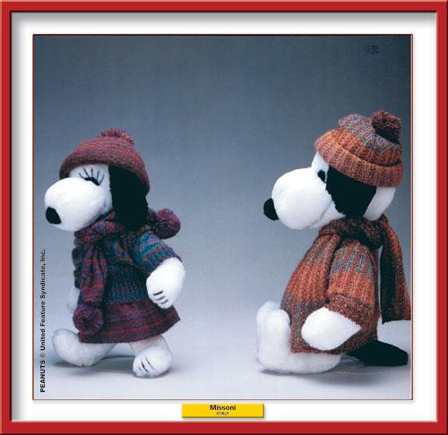 Missoni per Snoopy