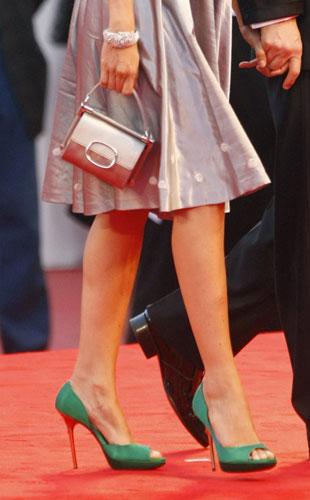 Livia Giuggioli sul red carpet