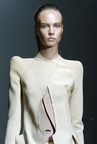Thierry Mugler giacca beige