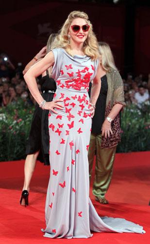 Madonna red carpet