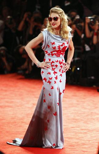 Madonna abito lungo