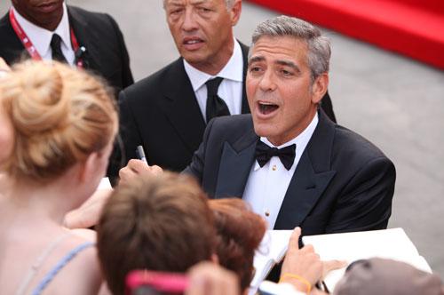 George Clooney tra i fan