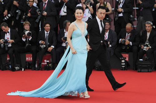 Zhao Tao sul red carpet