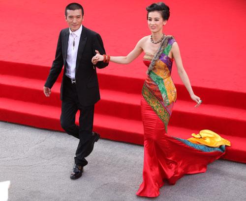 Li Bingbing sul red carpet