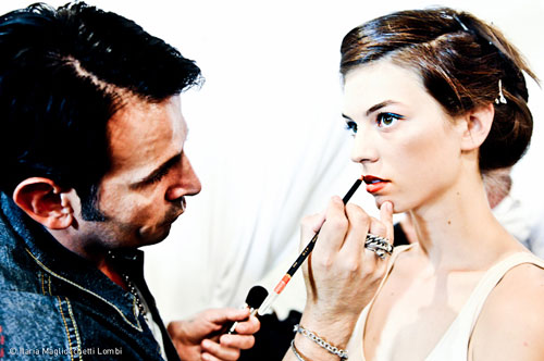 Makeup artist e modella
