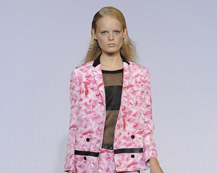 Costume National, completo rosa