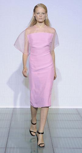 Costume National, abito rosa