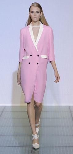 Costume National, blazer rosa