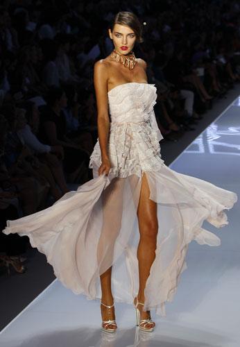 Christian Dior, abito bianco