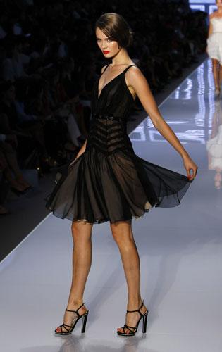 Christian Dior, abito nero