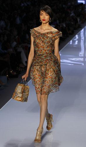 Christian Dior, abito fiori