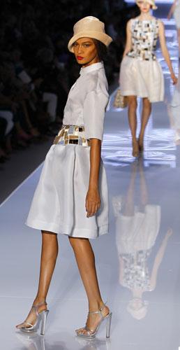Christian Dior, abito chiaro