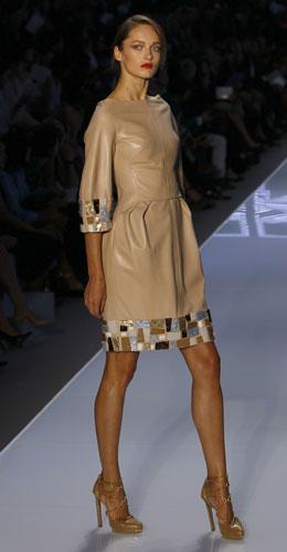 Christian Dior, abito pelle