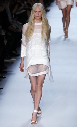 Givenchy, abito bianco