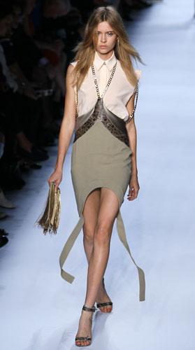 Givenchy, abito bicolore