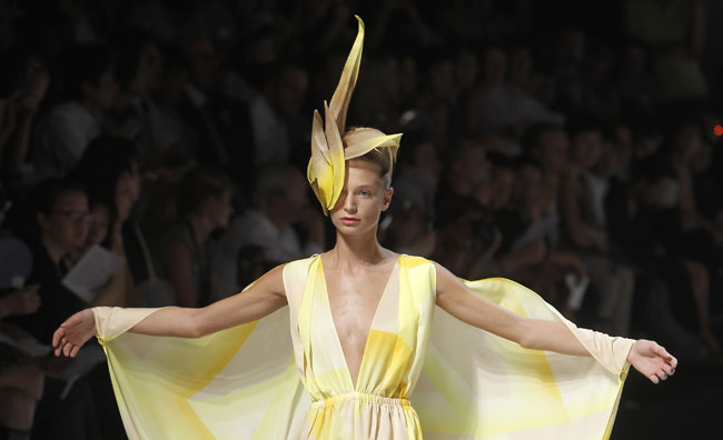 Issey Miyake, l'amore per il  Giappone
