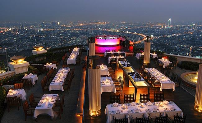 Scirocco Restaurant Bangkok
