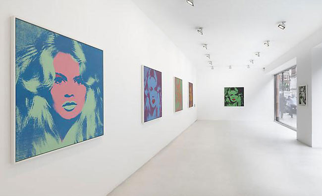 Brigitte Bardot by Andy Warhol
