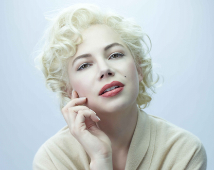 Michelle Williams locandina My week with Marilyn
