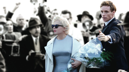 Michelle Williams Marilyn paparazzi