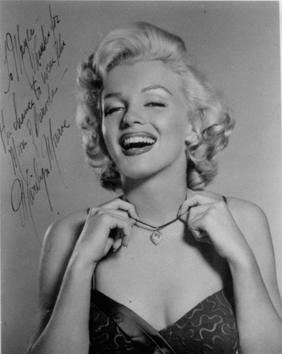 Marilyn Monroe diamanti