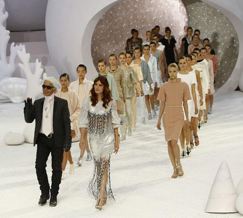 huge discount 24481 9c39b Il fondale marino di Chanel - www.stile.it