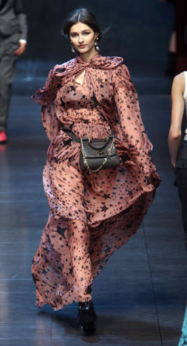 Abito stampe di stelle Dolce&Gabbana