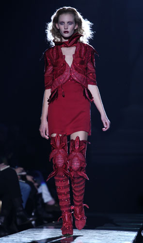 Stivali rossi Francesco Scognamiglio