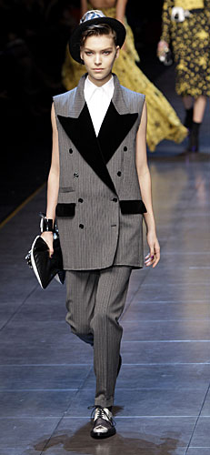 Maxi gilet Dolce&Gabbana