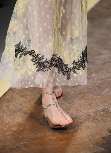 Valentino, sandalo