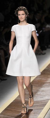 Valentino, abito bianco