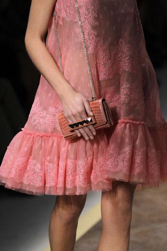 Valentino, abito rosa