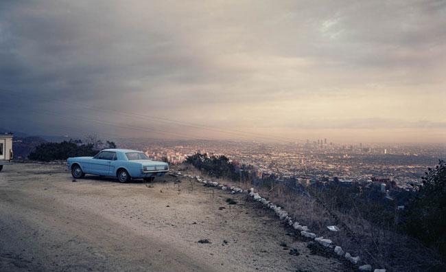 Blue Mustang, Los Angeles