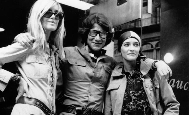 Loulou de la Falaise, Yves Saint-Laurent, Betty Catroux