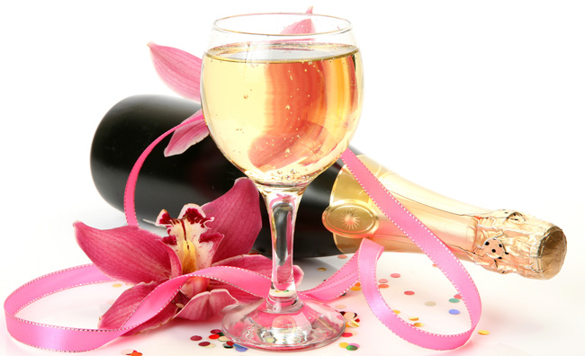 Brindisi frizzanti con i migliori vini d'oltralpe