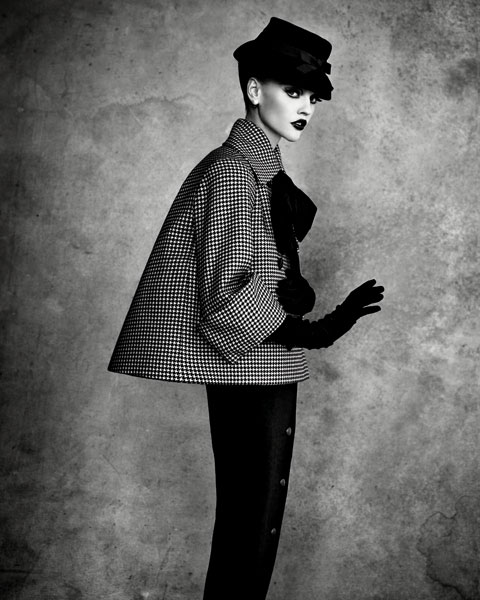 Giacca asimmetrica Dior