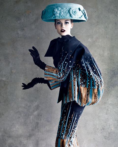 Cappello e abito Dior