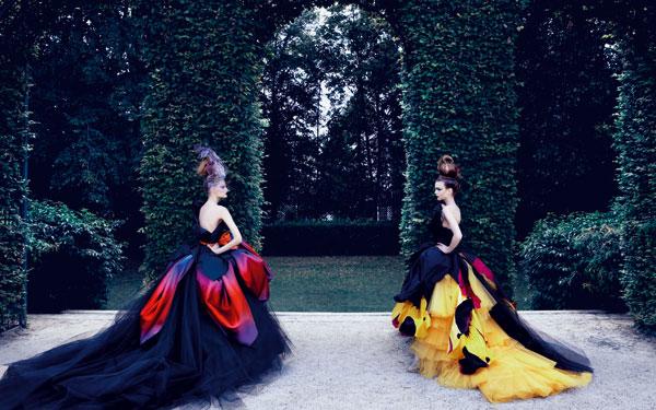 Abiti in chiffon Dior