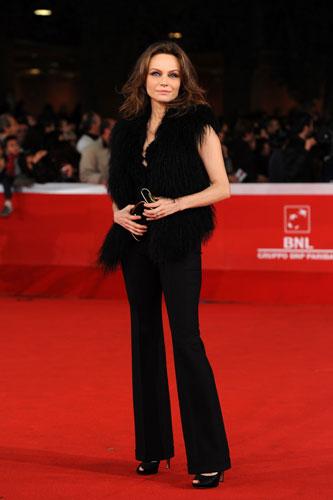 Francesca Neri in Gucci
