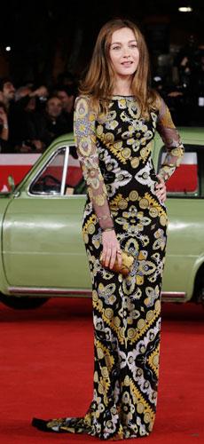 Cristiana Capotondi al Festival di Roma