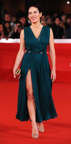 Maya Sansa sul red carpet