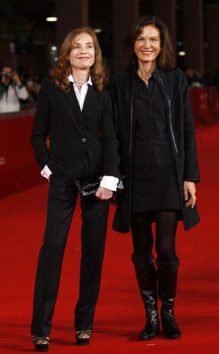 Isabelle Huppert e Anne Fontaine