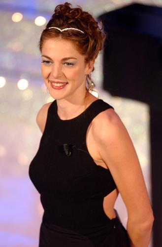 Claudia Gerini Sanremo 2003