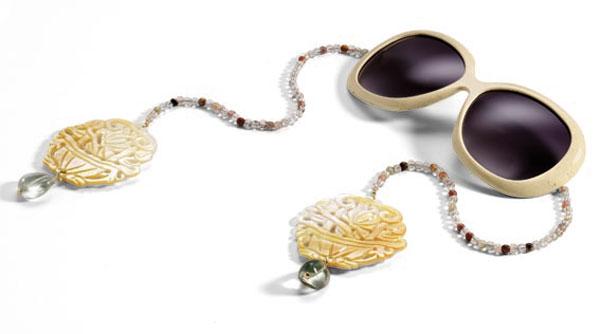 Occhiali gioiello Raffaella di Montalban