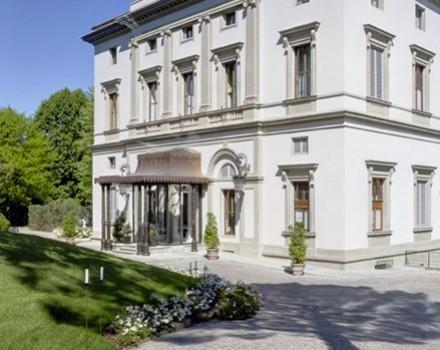 Ingresso Grand Hotel Villa Cora