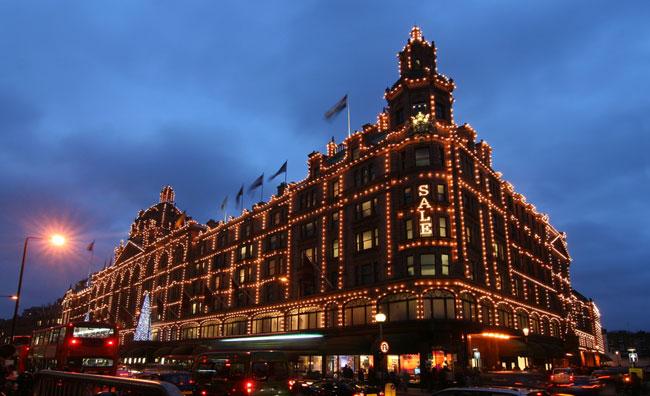Shopping natalizio a Londra
