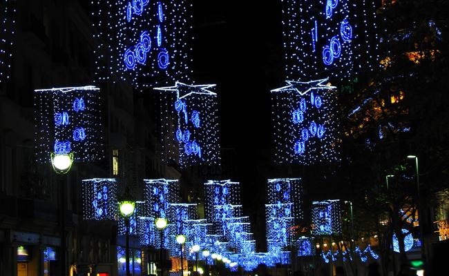 Luminarie a Barcellona